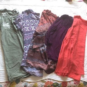Bundle Women Tops Size Large Forever 21 Style & Co Absolutely Famous Eyeshadow